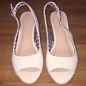 Kelly and Kate wedge sandals